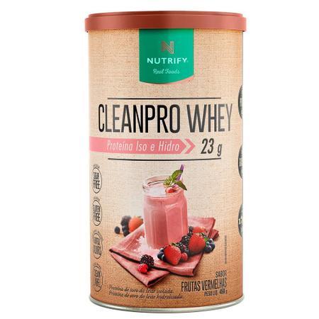 Imagem de Cleanpro Whey Frutas Vermelhas 450g Nutrify