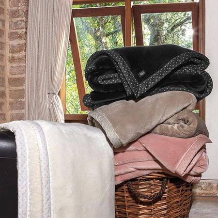 Imagem de Cobertor Queen Kacyumara Blanket High Alta Gramatura 700 g/m2 Microfibra de Poliéster 2,20 x 2,40