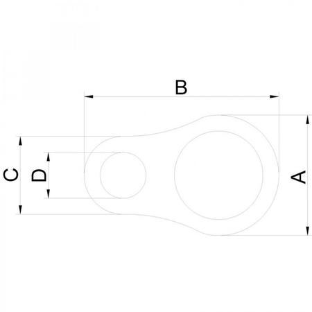 Imagem de Colar em Aço Inox 15,24 a 18,28mm Tramontina PRO