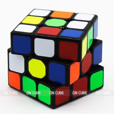 Imagem de Cubo Mágico Profissional 3x3x3 Qiyi Sail W Preto