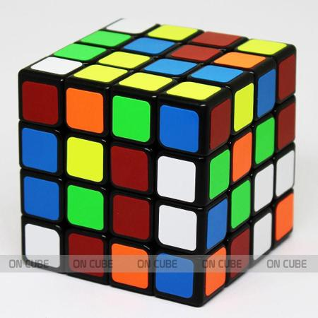Imagem de Cubo Mágico Profissional 4x4x4 Qiyi QiYuan Preto