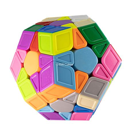 Imagem de Cubo Mágico Profissional Qiyi Megaminx Qiheng Stickerless