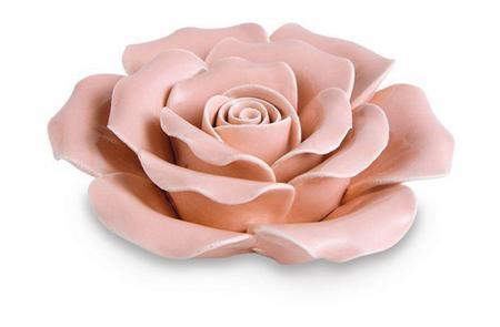 Imagem de Decor Flor Rosa em Cerâmica 11287 Mart