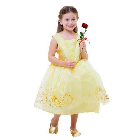Imagem de Fantasia Bela Com Flor - Clássica - Infantil