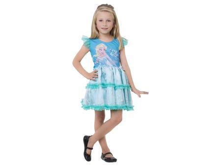 Imagem de Fantasia Infantil Elsa Pop Tam. P
