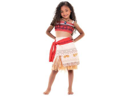 Imagem de Fantasia Infantil Moana Clássica Tam. P