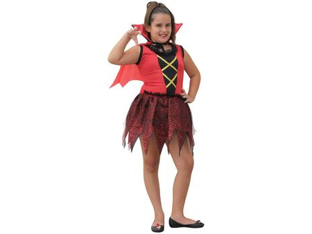 Imagem de Fantasia Infantil Vampirinha