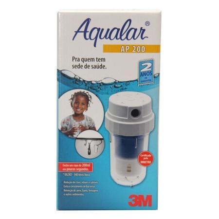 Imagem de Filtro De Agua 3m Aqualar Ap200 Multiuso