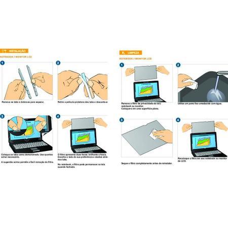 Imagem de Filtro de Privacidade 14 Notebooks 310x175mm Widescreen PF14.0W 1 UN 3M