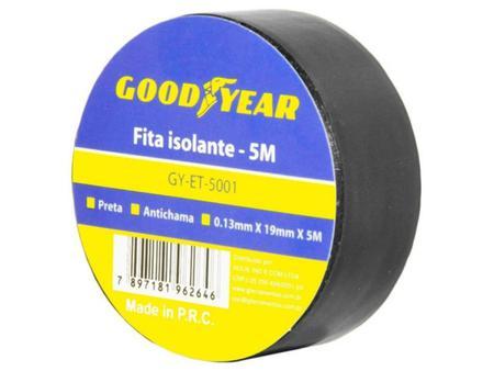 Imagem de Fita Isolante Goodyear GY-ET-5001 5M Anti-Chama