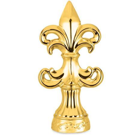 Imagem de Flor de Lis Dourada 27cm Mart