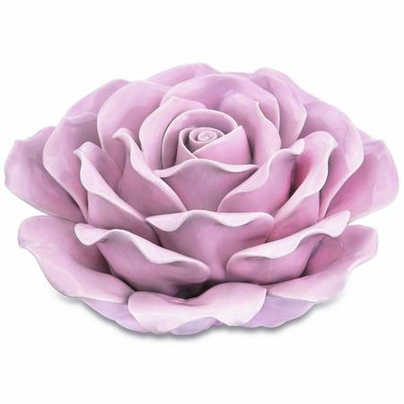 Imagem de Flor Rosa em Cerâmica 7649 Mart