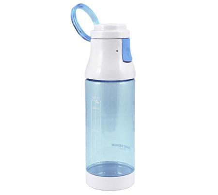 Imagem de Garrafa 400 Ml Com Alça Superior E Trava Azul Jack Design