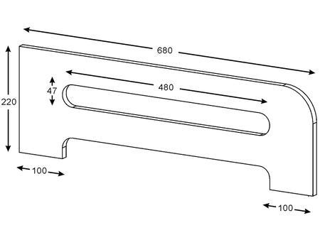 Imagem de Grade de Proteção para Cama 68x22 Multimóveis
