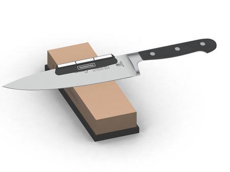 Imagem de Guia para afia o de facas preto abs e ceramica tramontina