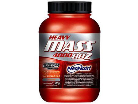 Imagem de Hipercalórico / Massa Heavy Mass 4000 NO2 1,5kg