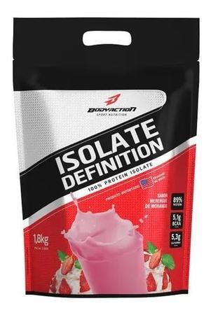 Imagem de Isolate Definition Sabor Morango 1,8kg Bodyaction