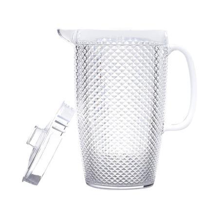 Imagem de Jarra de acrílico p/água bico de jaca transparente