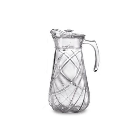 Imagem de Jarra em vidro com tampa em acrílico Original Line 1,8 litro SL0808