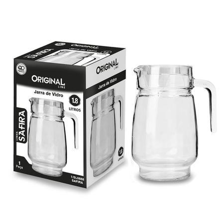 Imagem de Jarra em vidro Original Line Safira 1,85 litro