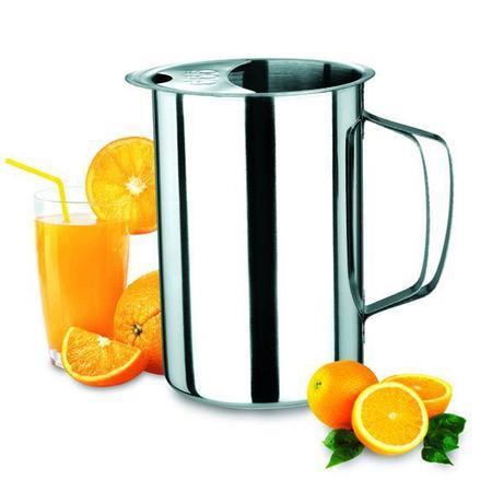 Imagem de Jarra para servir sucos leite e outros em aço Inox  1,8 Litros  Ke Home 6018-1