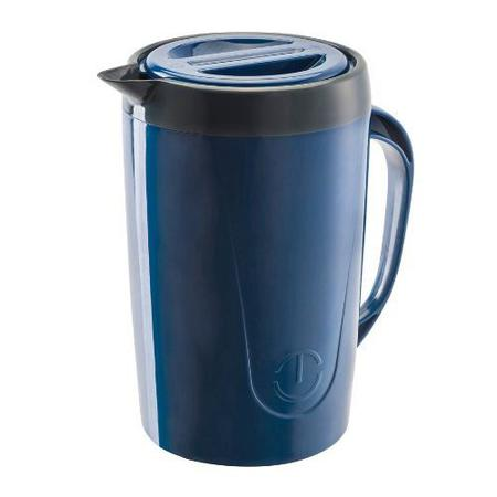 Imagem de Jarra termica com tampa caribe 2 litros azul - unitermi - mcd