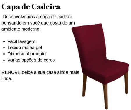 Imagem de Jogo Capa de Cadeira ALICE 4 LUGARES - Tam. Grande