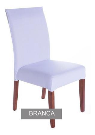 Imagem de Kit 2 Capas De Cadeira Malha Gel Elástica Para Sala Cozinha