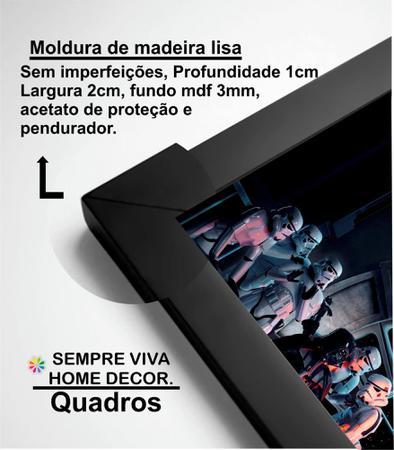 Imagem de Kit 2 Quadros Decorativos Black Pink Música Mod 148 21x30cm