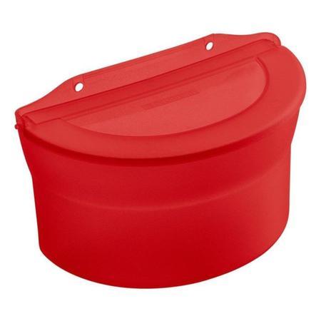 Imagem de kit 2 Saleiro 885 ml vermelho sanremo