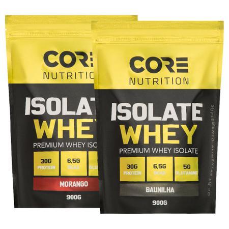 Imagem de Kit 2x Isolate Whey 900g - Core Nutrition