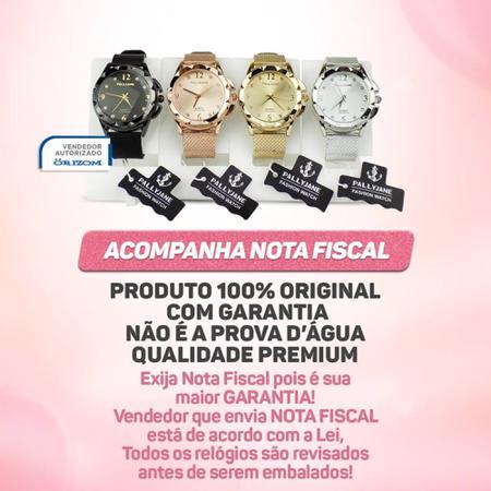 Imagem de Kit 4 Relógios Femininos Analógicos