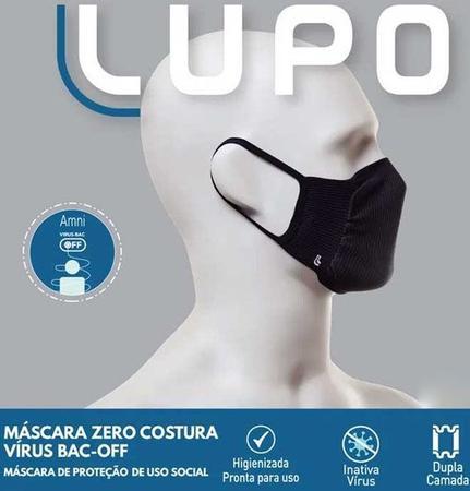 Imagem de Kit 6 Máscaras Lupo Zero Costura BAC - OFF 36004-900