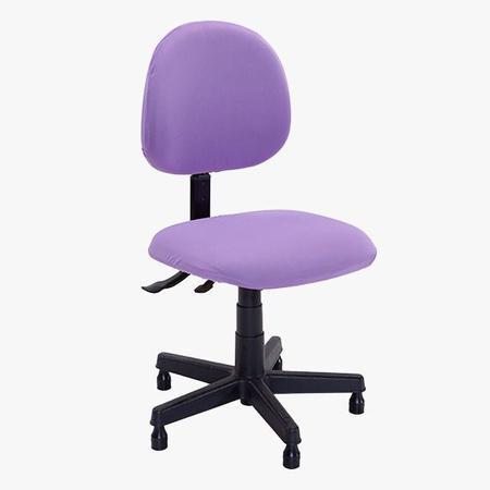 Imagem de Kit Capa Para Cadeira De Escritório Em Malha 1 Unidade Lilás