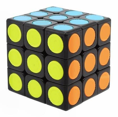 Imagem de Kit Conjunto 3 Cubo Mágico Antistress 3x3 Speed