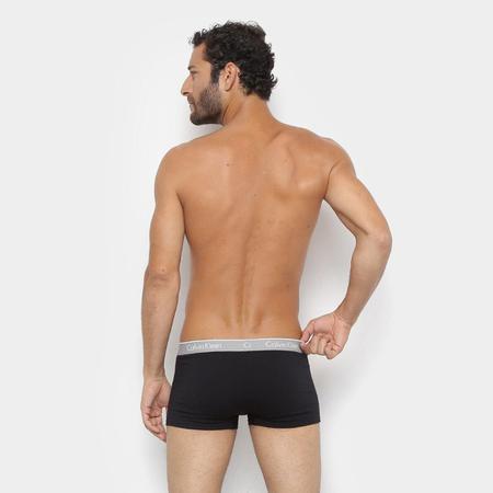 Imagem de Kit de Cuecas Boxer Calvin Klein Trunk Cotton - 2 Peças