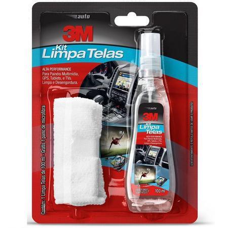 Imagem de Kit Limpa Telas 100 ML com Pano de Microfibra 3M