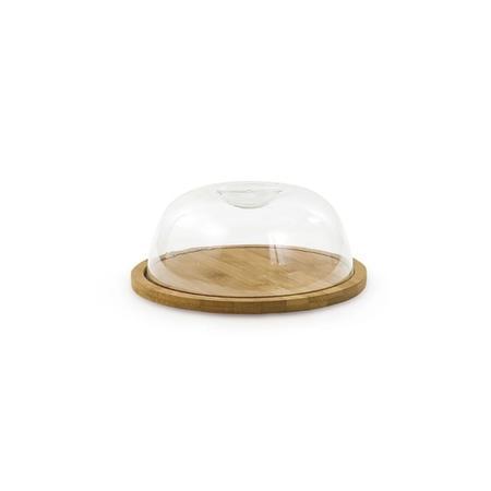 Imagem de Kit porta bolo com tampa e porta queijo com tampa ecokitchen