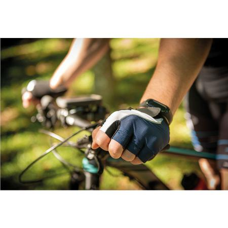 Imagem de Luva Para Ciclismo Tramontina Tricolor Dedo Curto