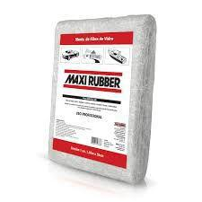 Imagem de manta de Fibra de Vidro Maxi Rubber 520gr 1,4m x 80cm