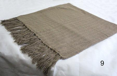 Imagem de manta de sofa para sofá xale chale poltrona decorativa capucino