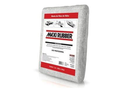 Imagem de Manta Fibra Vidro 320g 1,40mx0,50m Maxi Rubber