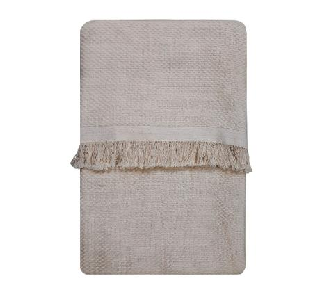 Imagem de Manta para sofá 100% algodão 2 tamanhos casa dona