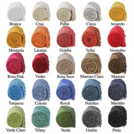 Imagem de Manta para Sofá de Chenille  Xale Sofá Protetora Decorativa