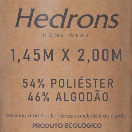 Imagem de Manta para Sofá Hedrons Buzios Nude 145x200cm