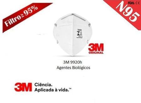 Imagem de Máscara de Proteção Clip Nasal 3M 9920H N95