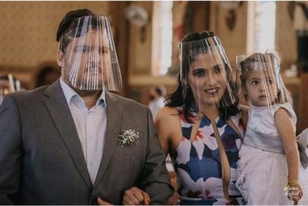 Imagem de Mascara Protetor Facial Face Shield, transparente lavável