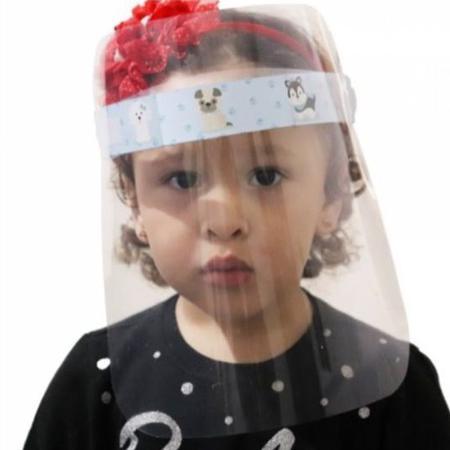 Imagem de Máscara Protetor Facial Family Personagens Visor Transparente Face Shield