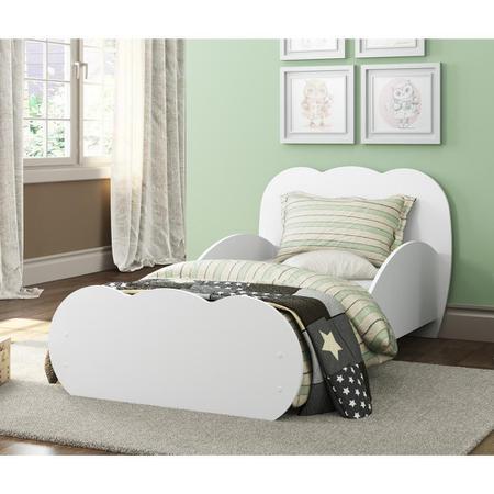 Imagem de Mini Cama Algodão Doce com colchão 150cmx70cm 100% MDF Multimóveis Branca