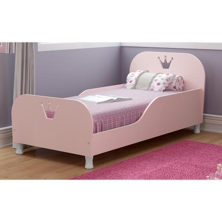 Imagem de Mini Cama Multimóveis Rei Rainha 100% MDF para colchão 150cmx70cm Rosa REF.2321.157